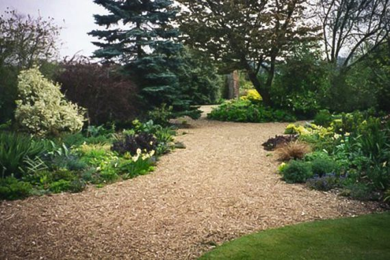 use rocks in your landscape to highlight your existing garden