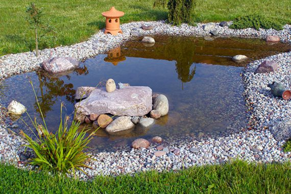 use rocks in your landscape to capture the beauty of water