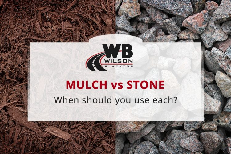 Landscaping Mulch or Stone: When Should You Use Each?