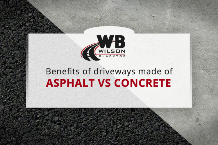 Benefits of an Asphalt Driveway vs. Concrete