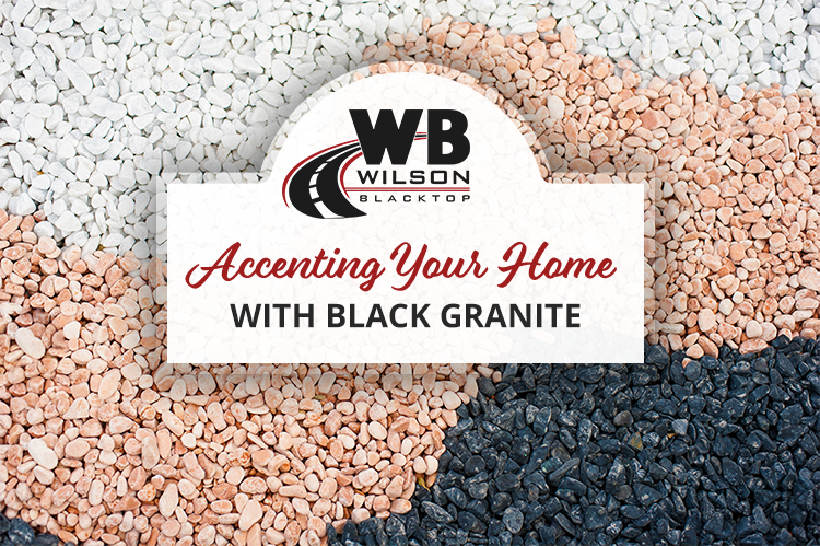 Accenting Your Home with Black Granite