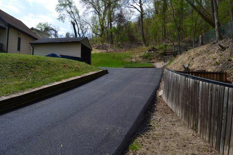 Kreitzer Residence Driveway